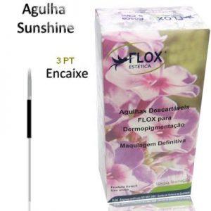 AGULHA/PONTEIRA  SUNSHINE 3 PONTAS